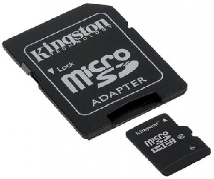Kingston microSDHC 4GB Class10
